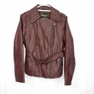 Guess Faux Leather Jacket
